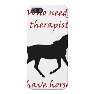 Funny Horse Therapy iPhone 4/4S Speck Case iPhone 5 Case