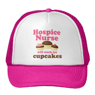 Funny Hospice Nurse Hat
