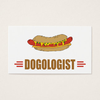 Funny Hot Dog Business Card
