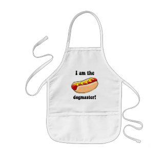Funny hotdog aprons