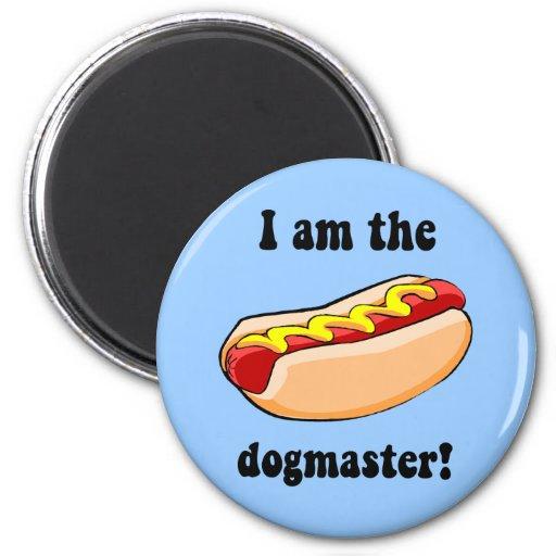Funny hotdog magnets