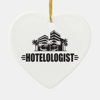 Funny Hotel Christmas Ornament