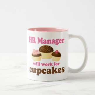 Funny HR Manager Two-Tone Coffee Mug