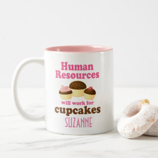 Funny Human Resources Personalized Gift Mug