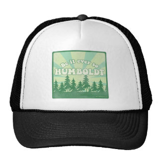 Funny Humboldt County Mesh Hat