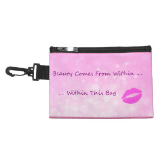 Funny Humor Cosmetics Beauty Within Accessories Bag