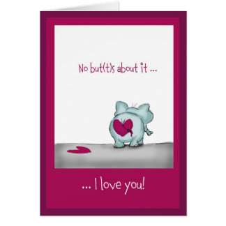 Funny humorous Valentine' s Day Greeting Card