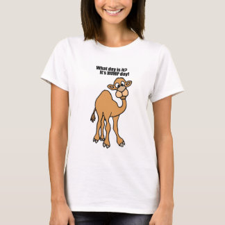 Funny Hump Day Camel Art T-Shirt