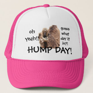 Funny Hump Day Camel Baseball Cap, Oh Yeah!! Trucker Hat