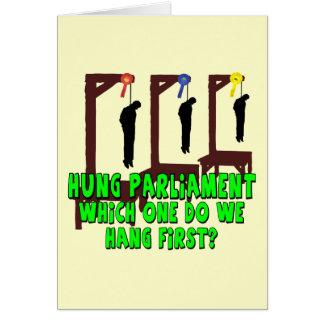 Funny hung parliament card