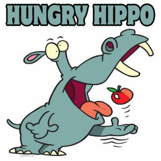 funny hungry hippo cartoon acrylic cut outs