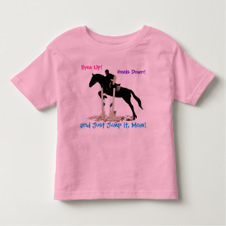 Funny Hunter/Jumper Equestrian Horse Kid's Shirt