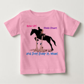 Funny Hunter/Jumper Equestrian Horse Kid's Shirt