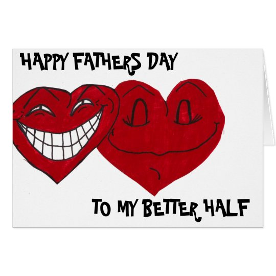 FUNNY HUSBAND FATHERS DAY card