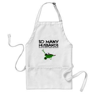 Funny husband standard apron