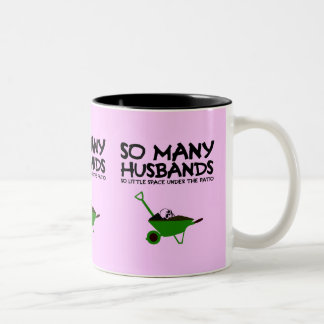 Funny husband Two-Tone coffee mug