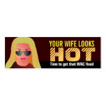 Funny HVAC Business Cards