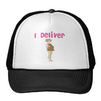 Funny I Deliver Pregnancy Trucker Hats