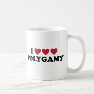 Funny I Heart Polygamy Coffee Mug