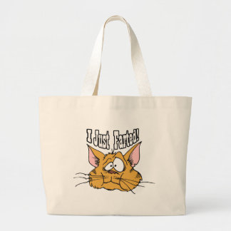 Funny I Just Farted Rude Gifts Canvas Bags