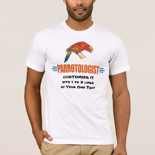 Funny I Love Parrots T-Shirt