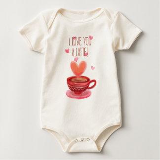 Funny I Love You A Latte Valentine   Bodysuit