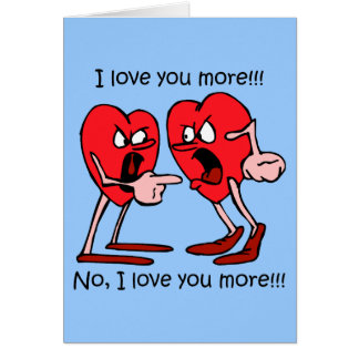 Funny I love you Cards