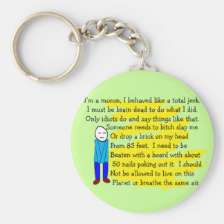 Funny I m Sorry Cards and Key Chains