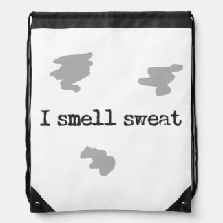 Funny I smell sweat © Sports Humor Rucksacks