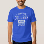 Funny - I Survived College T-shirt