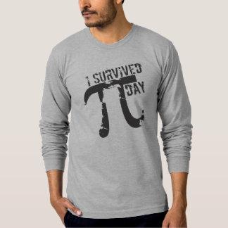 Funny I Survived Pi Day TShirts - Pi Symbol