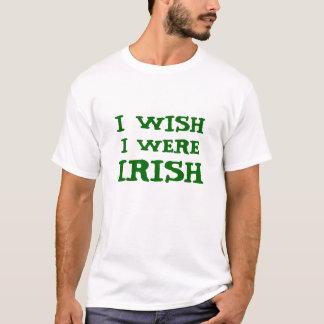 Funny I Wish I Were Irish Tee