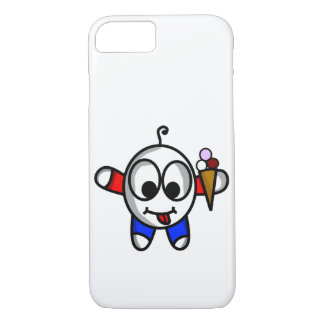 funny ice cream dude iPhone 8/7 case