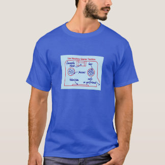 Funny ice hockey game tactics, T-Shirt