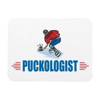 Funny Ice Hockey Rectangular Photo Magnet