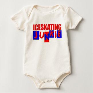 Funny Iceskating Baby Bodysuits