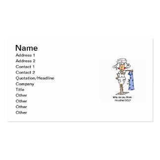 Funny ICU Nurse T-shirts and Gifts Pack Of Standard Business Cards