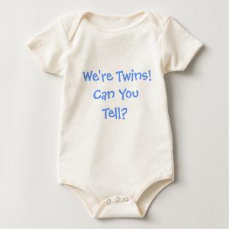 Funny Identical Twins Baby Bodysuit