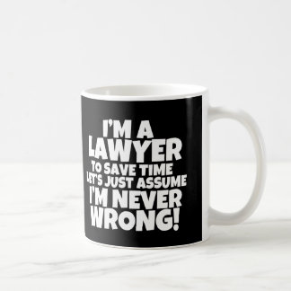 Funny I'm a Lawyer Mug Many colors available
