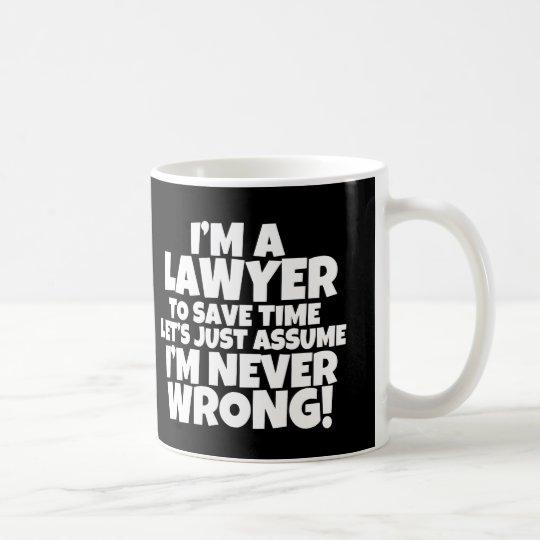 Funny I'm a Lawyer Mug Many colours available
