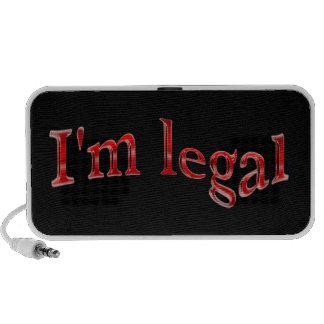 Funny I'm Legal Speakers