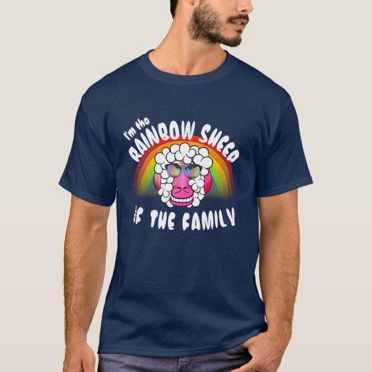 "Funny ""I'm the Rainbow Sheep of the Family"""