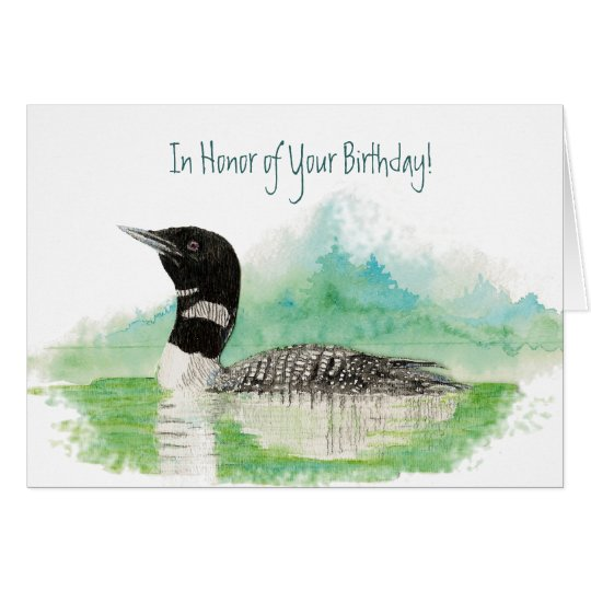 Funny, In Honour of Your Birthday, Fishing Loon