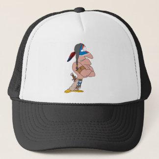 Funny Indian Trucker Hat