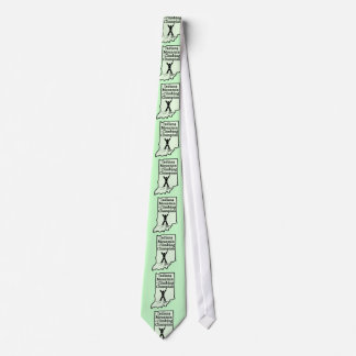Funny Indiana Mountain Climbing Champion Tie