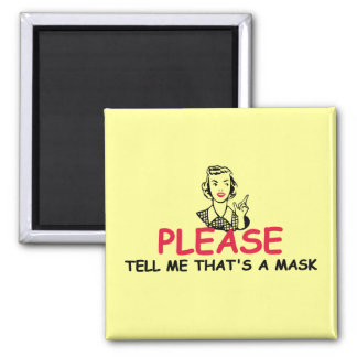 Funny insult square magnet