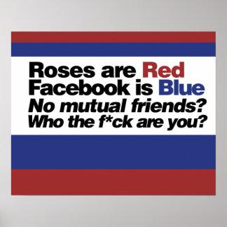 Funny internet poem print