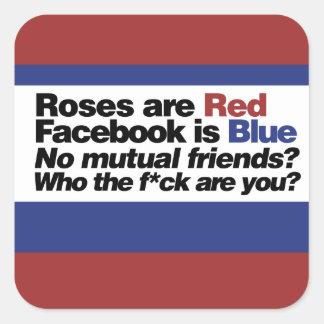 Funny internet poem sticker