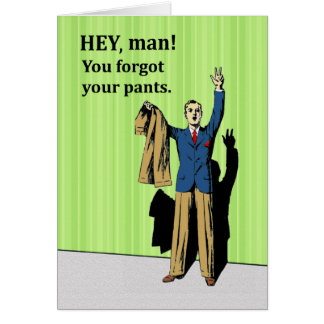 Funny Invitation for a Best Man for Wedding, Retro Greeting Card