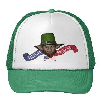 Funny Irish American St Patrick's day Trucker Hats